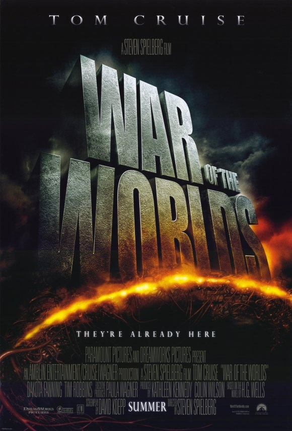 war of the worlds 2005 poster. 2005 saw another double