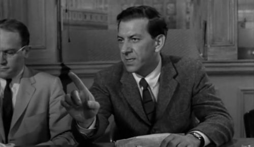12 angry men interview Questions you may consider:(these are very generalnot specific to the juror) 1 why did this jury find this boy not-guilty 2 what was the vote count at first.