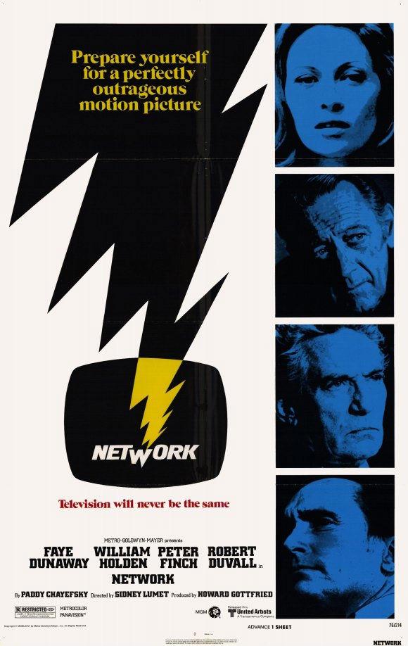 Oscar Vault Monday – Network, 1976 (dir. Sidney Lumet) | the diary of a  film history fanatic