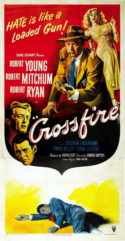 Crossfire (1947) - Trailer - YouTube