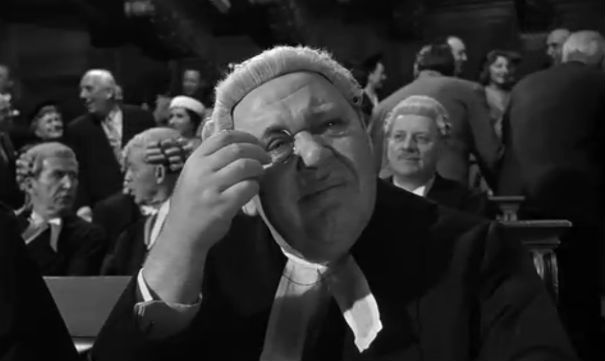 Image result for charles laughton witness for the prosecution