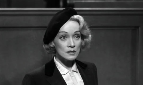 Image result for dietrich in witness for the prosecution