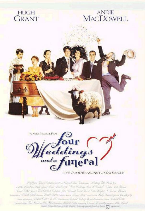 Oscar vault monday four weddings and a funeral 1994 for Four weddings and a funeral director mike