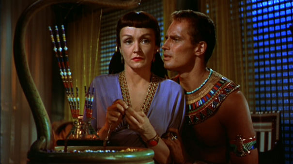 Image result for the ten commandments 1956 nina foch and heston