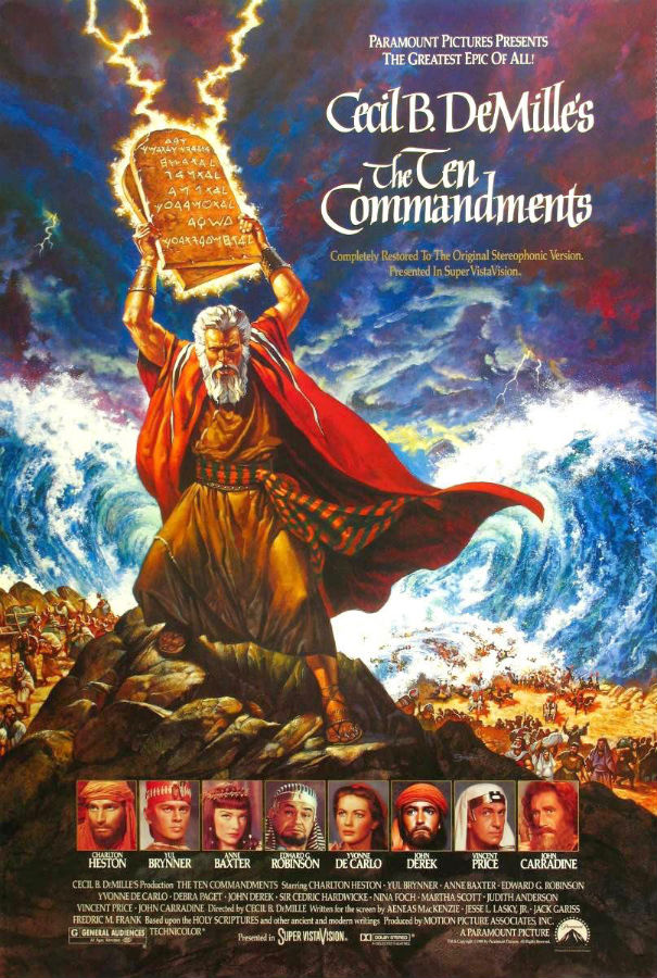 Ok please help me.. im doing a report on the ten commandments the movie?