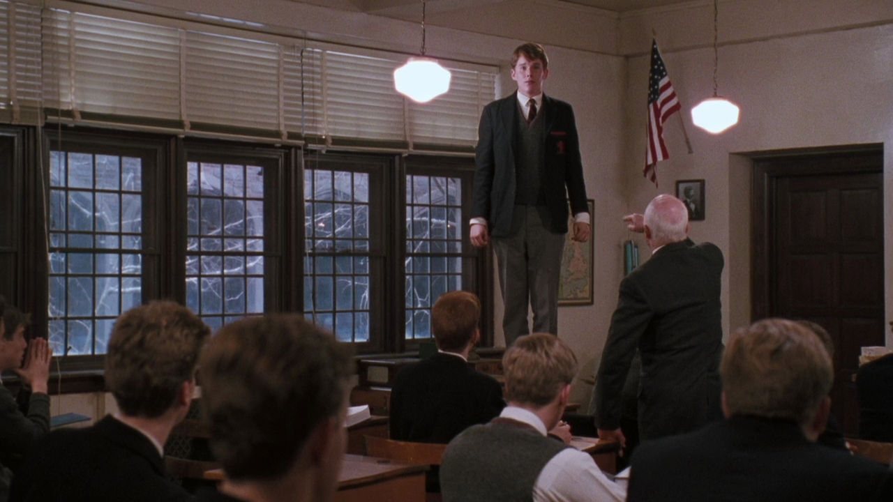 a comparison of mr keating and jesus in the film dead poets society